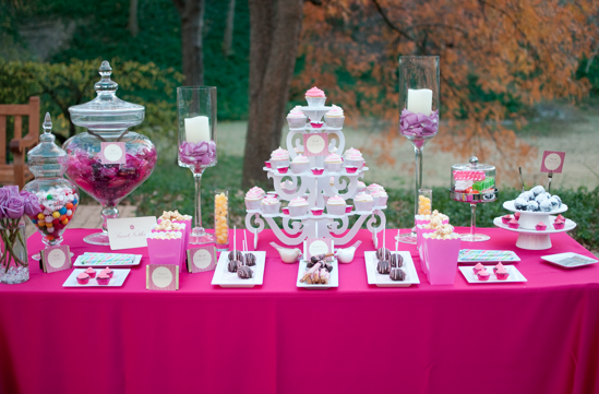 Pink Dessert Table, Deceitfully Sweet, Highland Park, TX