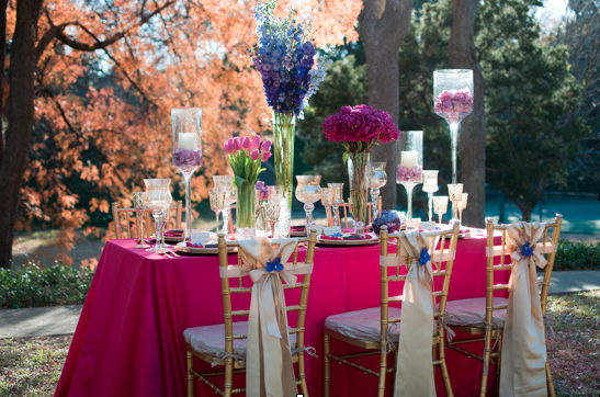 Dallas Wedding Planner, Pink and Gold Outdoor Wedding, Highland Park, TX