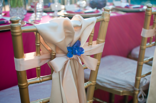 Chiavari Chair, Haute Floral, Blue Flower, Highland Park, TX