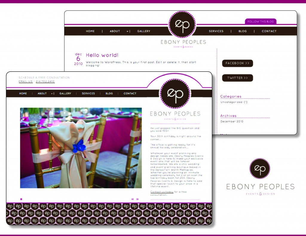 Ebony Peoples Events and Design, Dallas Wedding Planner, Fort Worth Wedding Planner, Event Planner