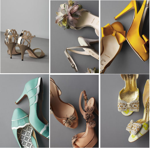 BHLDN Bridal Collection, Anthropologie, Bridal Shoes