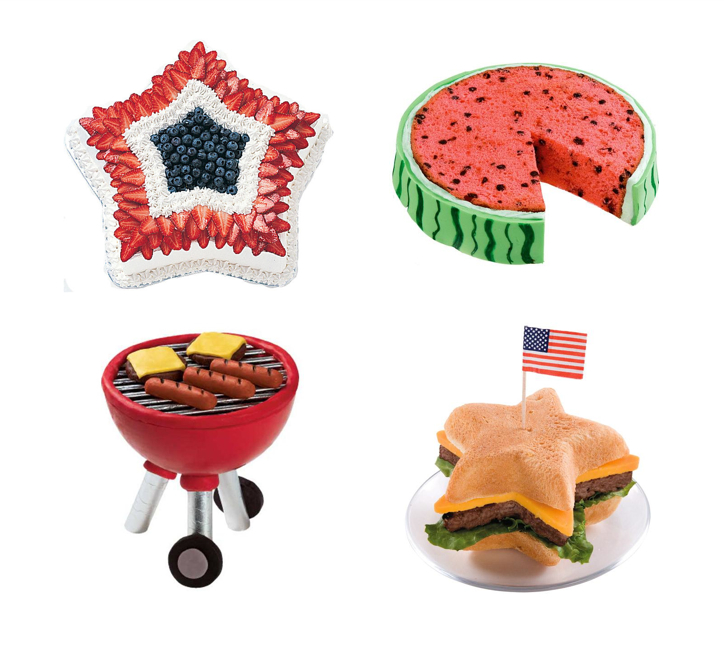Labor Day, Dallas Event Planner, Fort Worth Event Planner, Wilton, Watermelon Cake, Grilled Burger