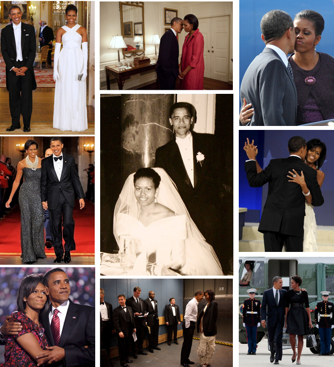 The Gallery For Gt Barack Obama And Michelle Obama Wedding