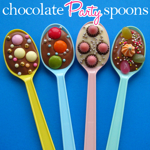 Dallas Wedding Planner, Dallas Event Planner, Chocolate Dipped Party Spoons, Pizzazzerie, Fort Worth Wedding Planner
