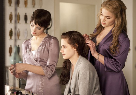 Dallas Wedding Planner, Dallas Party Planner, Twilight Saga, Breaking Dawn, Cullen Wedding, Bella's Makeup and Hair