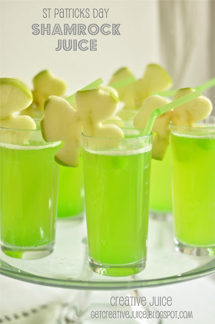 Dallas Wedding Planner, Dallas Party Planner, Dallas Event Planner, St. Patrick's Day, Shamrock Juice, Creative Juice