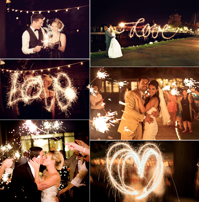Dallas Wedding Planner, Dallas Event Planner, Dallas Event Designer, Wedding Sparklers, 4th of July Wedding
