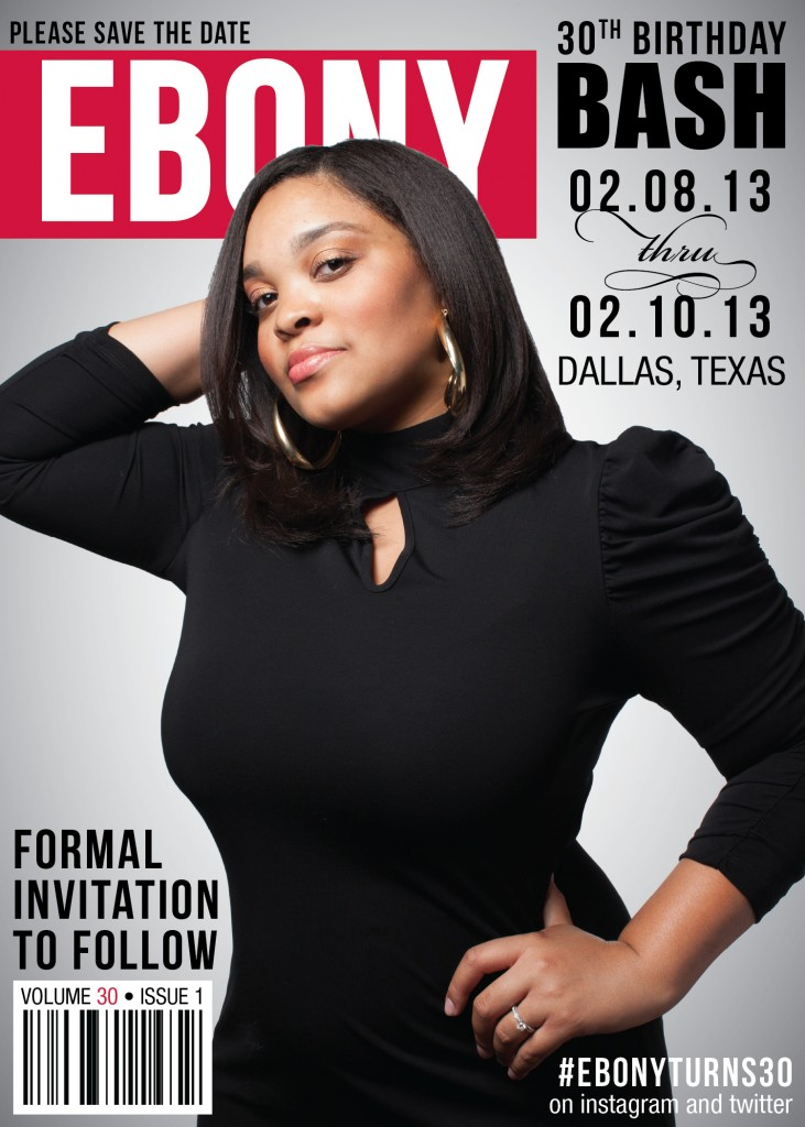 Dallas Wedding Planner, Dallas Event Planner, Save-the-Date, 30th Birthday, Ebony Magazine, Dallas Birthday